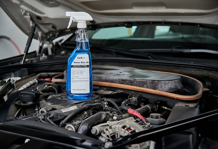 MOTOR LINE - Engine cleaning and degreasing