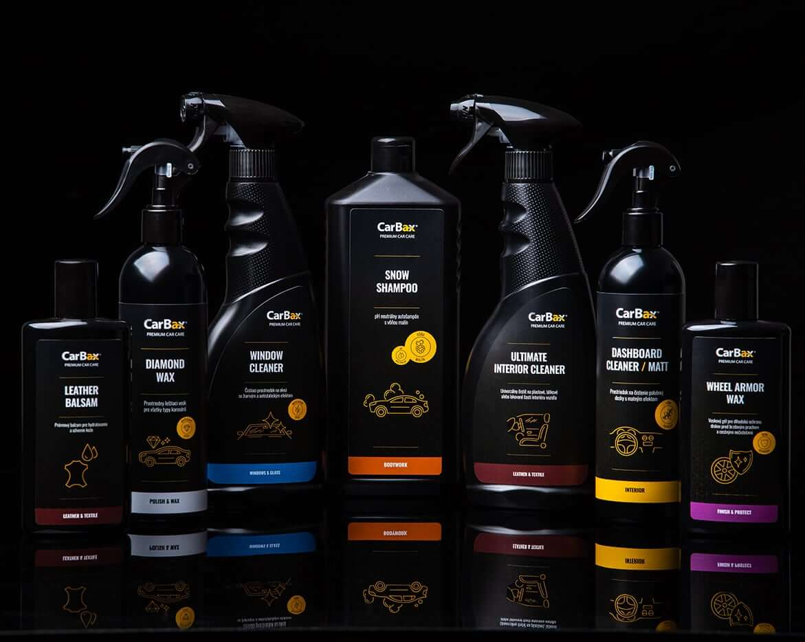 Premium car care products