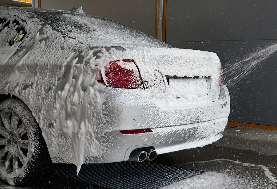 CAR LINE - Active foam and car shampoos